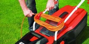 best electric lawn mower power cords batteries