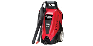 best electric pressure washer cleaning power
