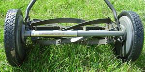 best reel mower cutting width