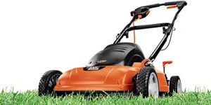 electric lawn mower cordless corded