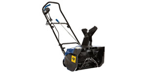 electric snow blower auger width intake height