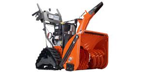 gas snow blower engine size