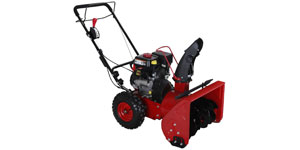 gas two-stage snow blower engine