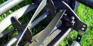 reel mower number of blades