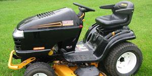 riding lawn mower transmission
