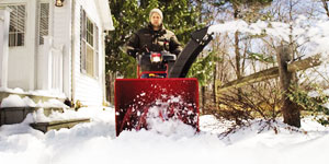 snow blower clearing width