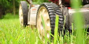 best electric lawn mower cutting deck