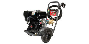 commercial pressure washer power source