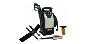 electric pressure washer size weight