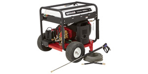 gas pressure washer powerful engine