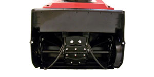 gas single-stage snow blower auger