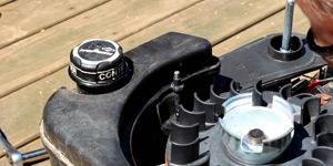 pressure washer power source