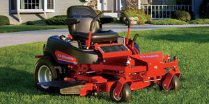 zero turn mower grade level