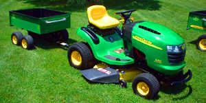 garden lawn tractor attachment