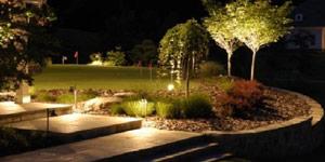 garden lighting planning