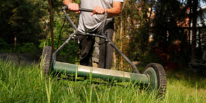 reel mower ease of use