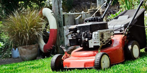 walk-behind mower self propulsion