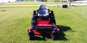 zero turn mower materials-design