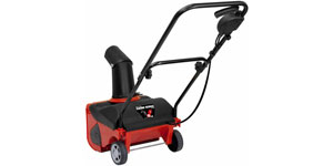 best electric snow blower overall capacity