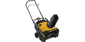 gas single-stage snow blower drive system