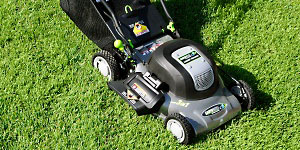 electric lawn mower starting mechanism safety features
