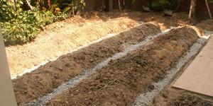 garden drainage design