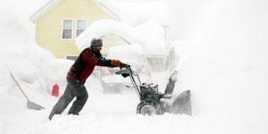 snow blower shovel