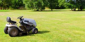 riding mower mowing needs
