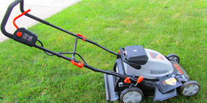 walk-behind mower maintenance