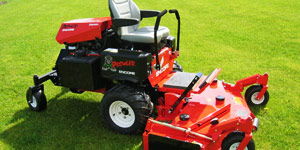 riding mower engine size
