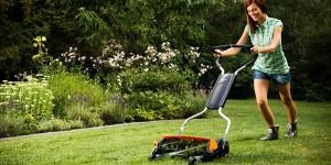 best reel mower